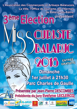 Élection Miss Curiste 2018